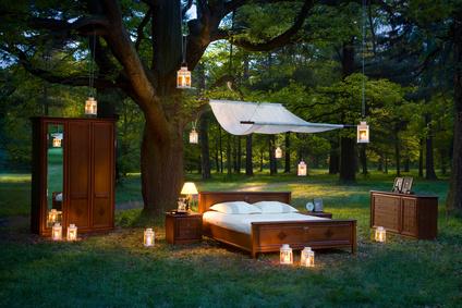 Wunderbar Natürliches Schlafzimmer