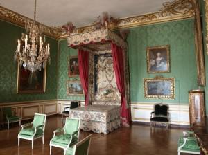 Prunk im Schlafzimmer von Versailles