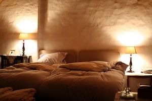 Schlafzimmer im Keller
